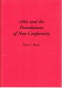 1662 and the Foundations of Non-Conformity